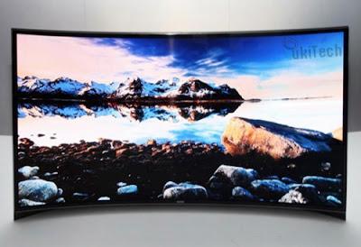 Samsung TV OLED Melengkung