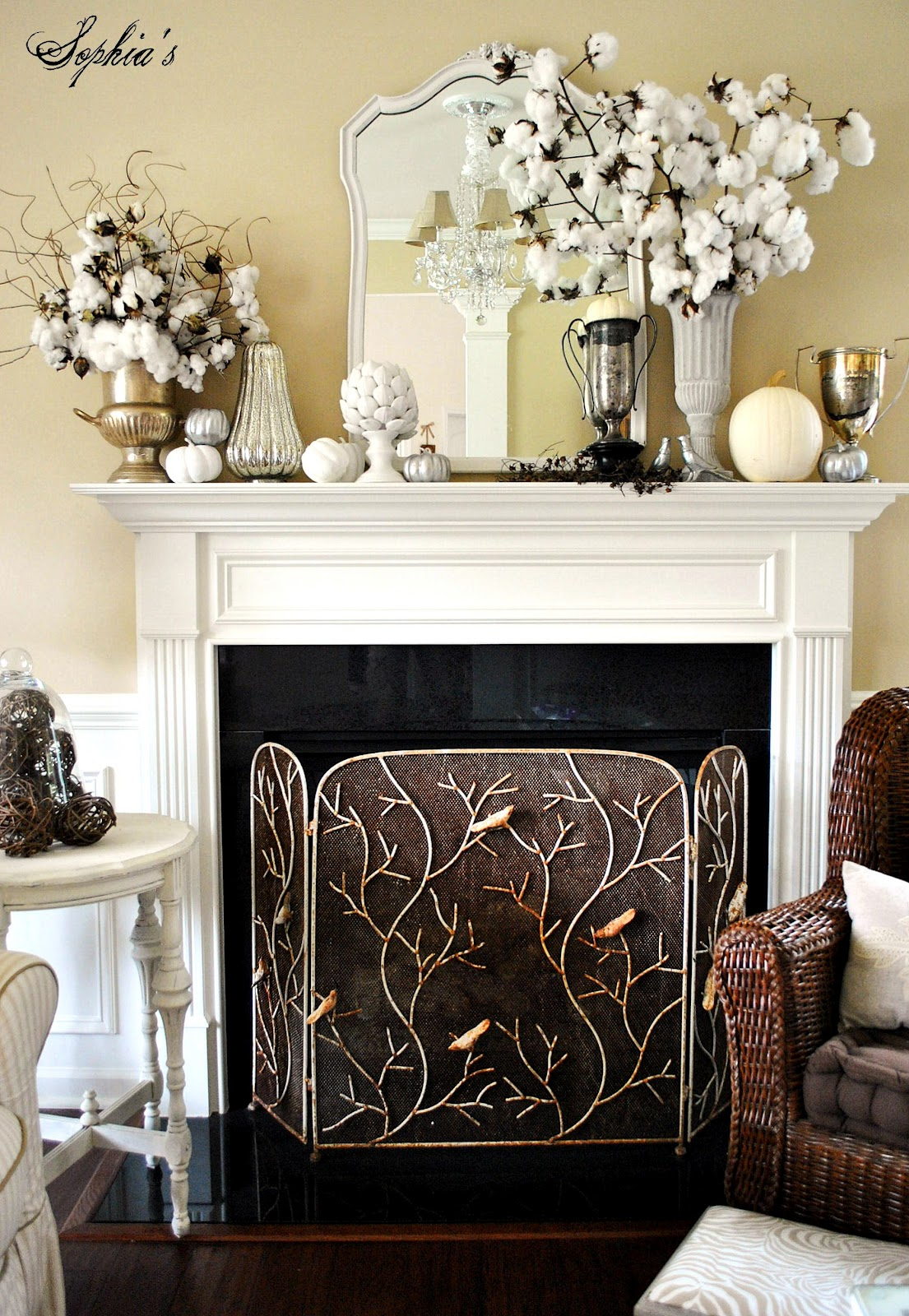 Design And Decor My Fall Mantels Of 2012