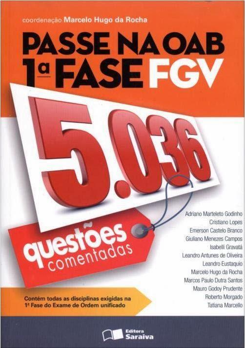 Passe na OAB - 1ª Fase FGV