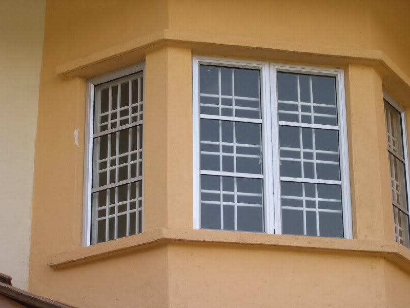 sample gril tingkap dan tingkap aluminium.