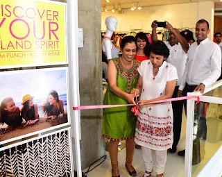 - Dilini Fernando and Dr. Manori Seneviratne, inaugurate Rum Punch's first store based collection as Rukshika Fernando Seneviratne, Chandimal Fernando and Binara Seneviratne look on.