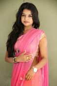 Bhavya Sri Photos in Pink Halfsaree-thumbnail-20