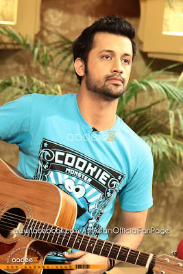 Atif Aslam and Mahira Khan Photos