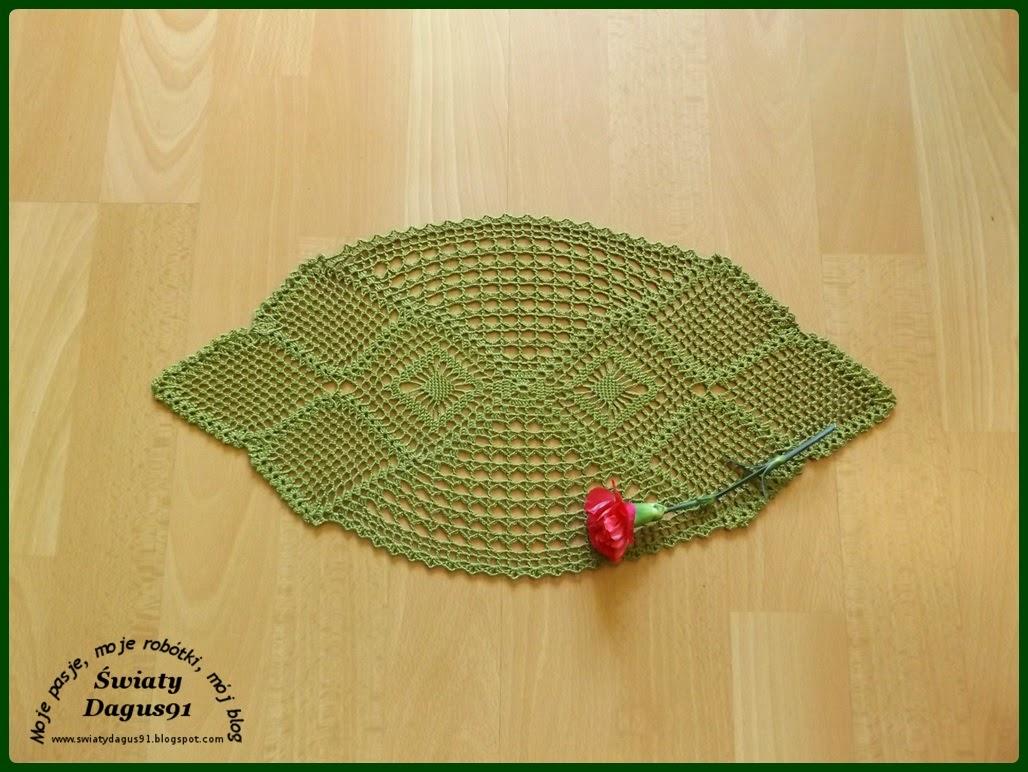 Zielona serwetka