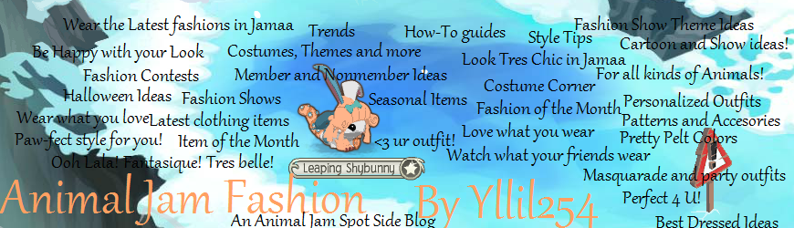 Animal Jam Fashion