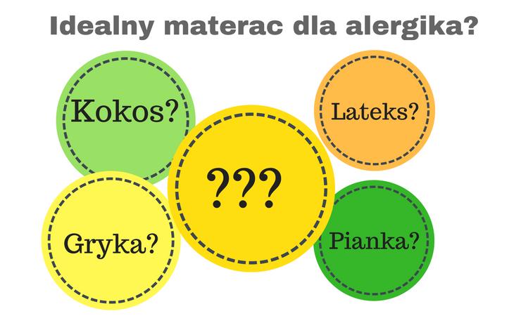 Jaki materac dla alergika?