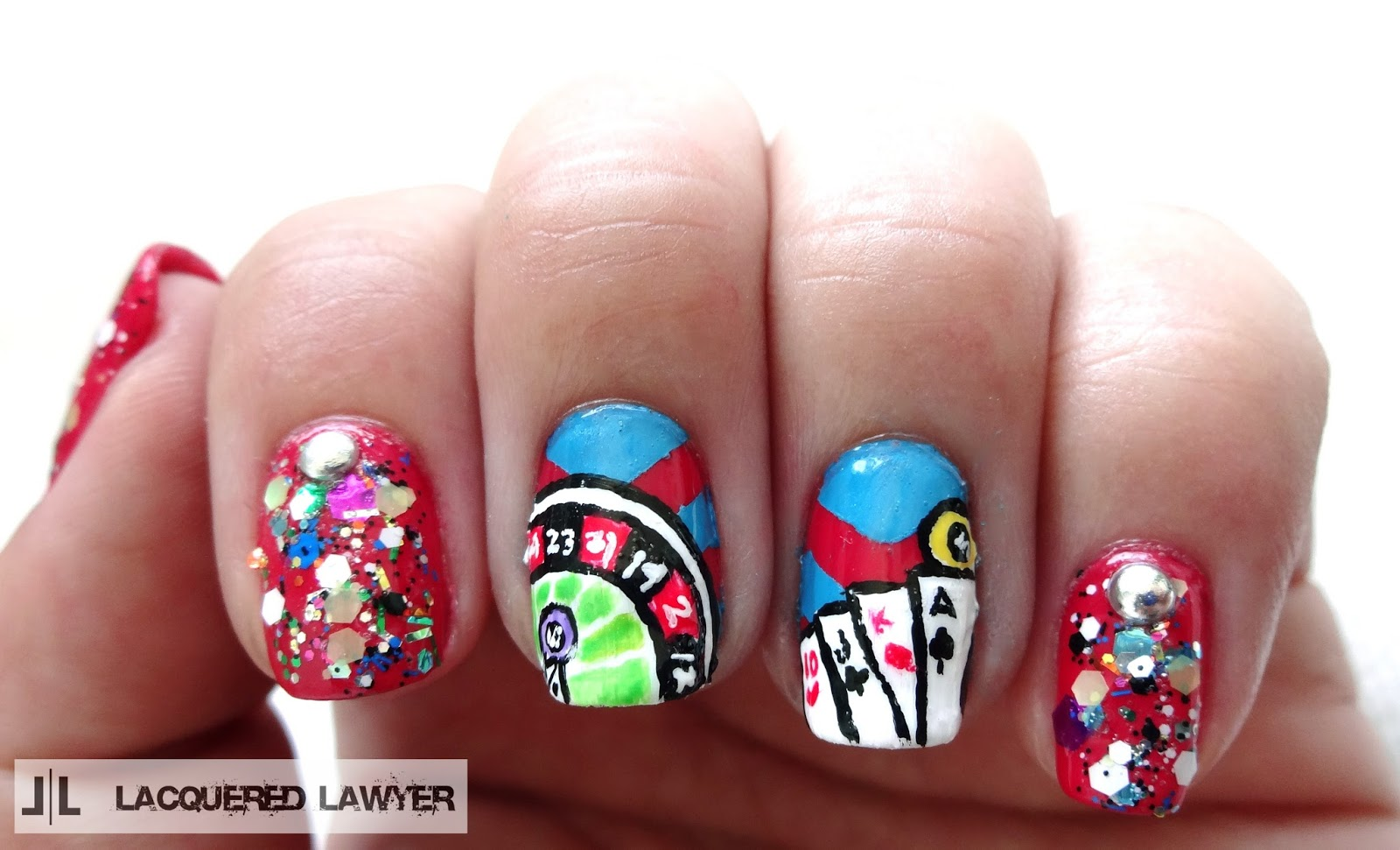 Lacquered Lawyer | Nail Art Blog: Vegas Vacation