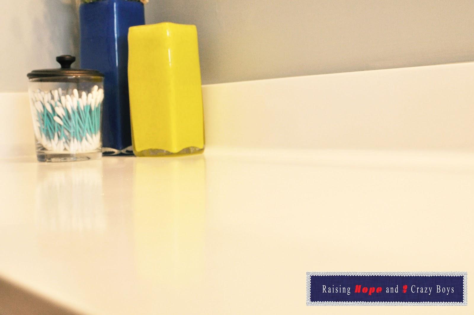 Raising Hope DIY RustOleum Tub and Tile Refinishing Kit