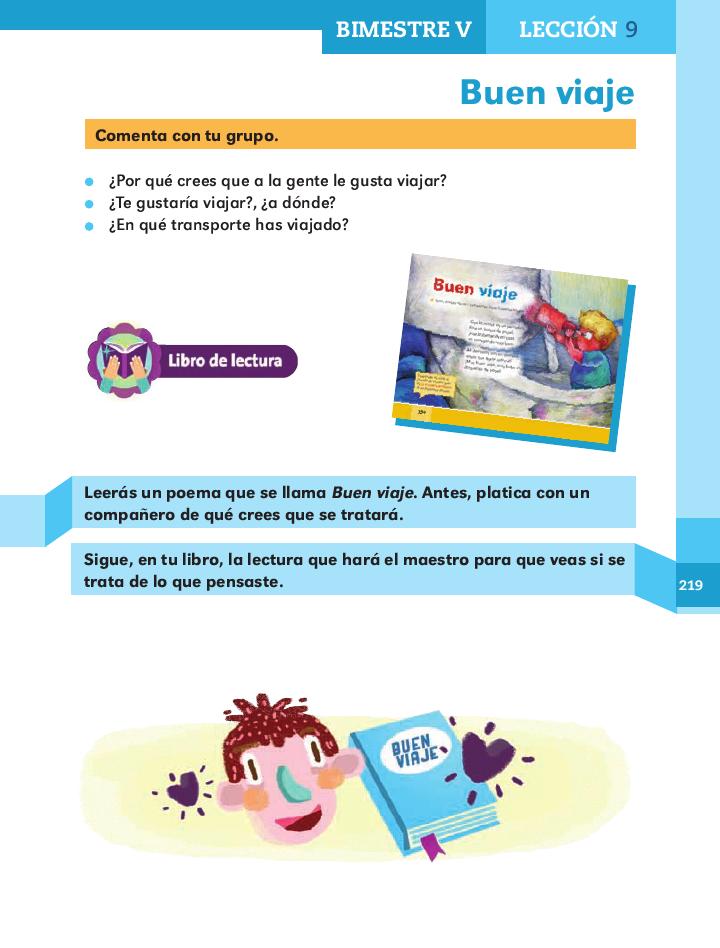Buen viaje español 2do grado bloque 5/ 2014-2015