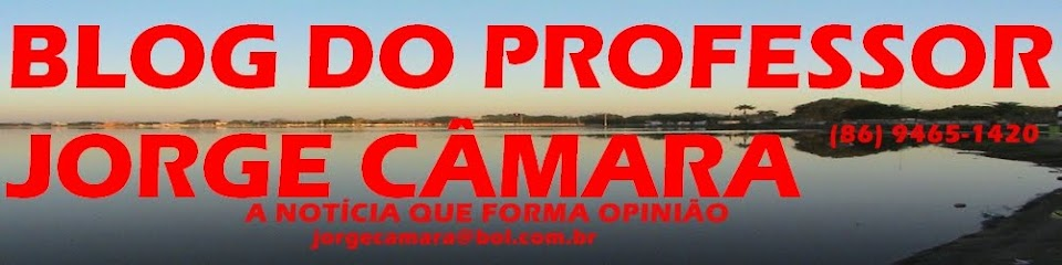 BLOG DO PROFESSOR JORGE CÂMARA