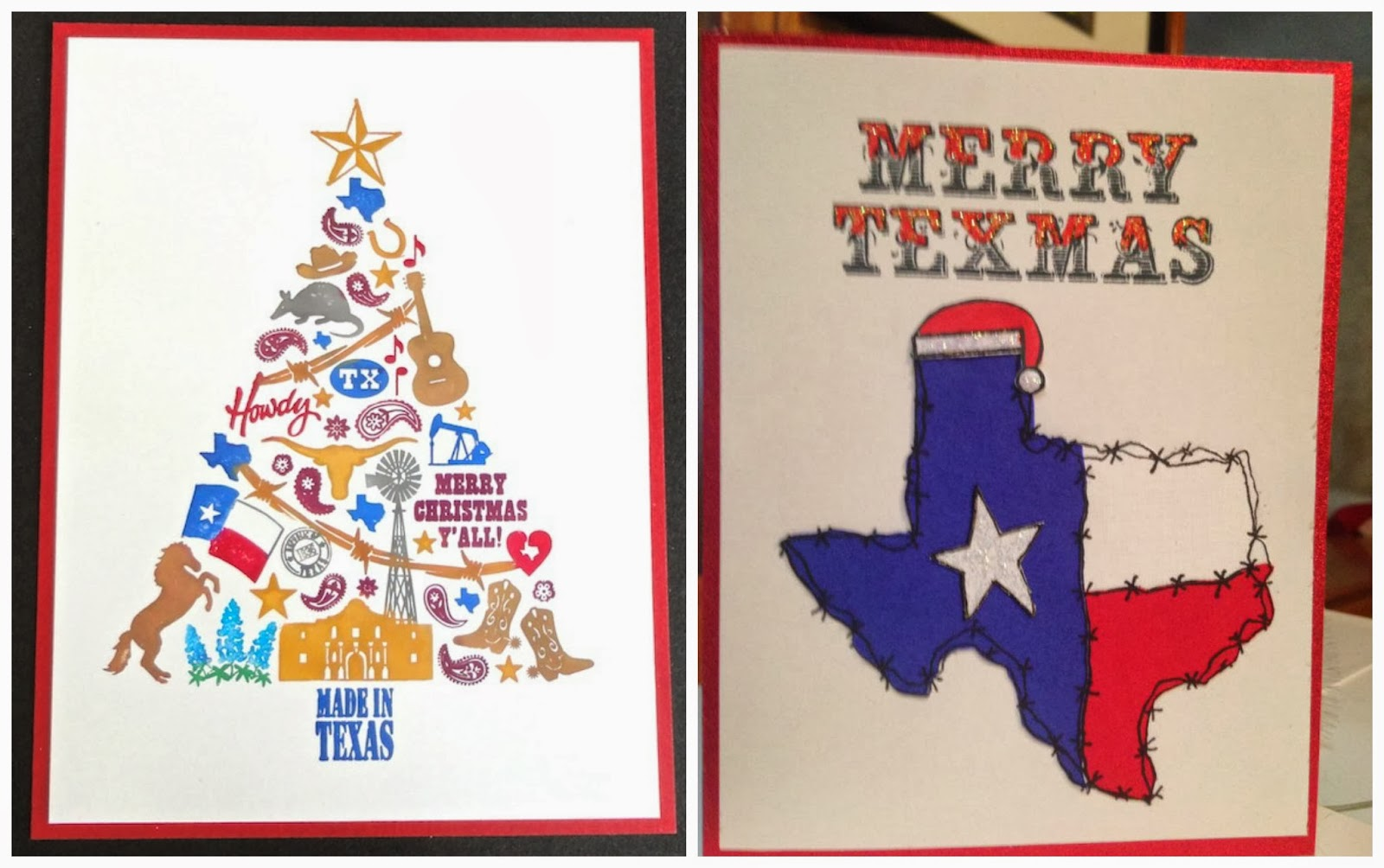 Your Merry Mailbox: Texas Week: Merry Christmas Y'all!
