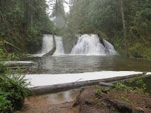 Pacific Northwest Cherry Creek Falls 4-21-13