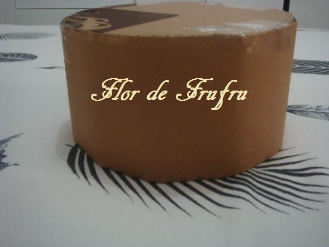 Flor de Frufru Bolo falso em EVA passo a passo