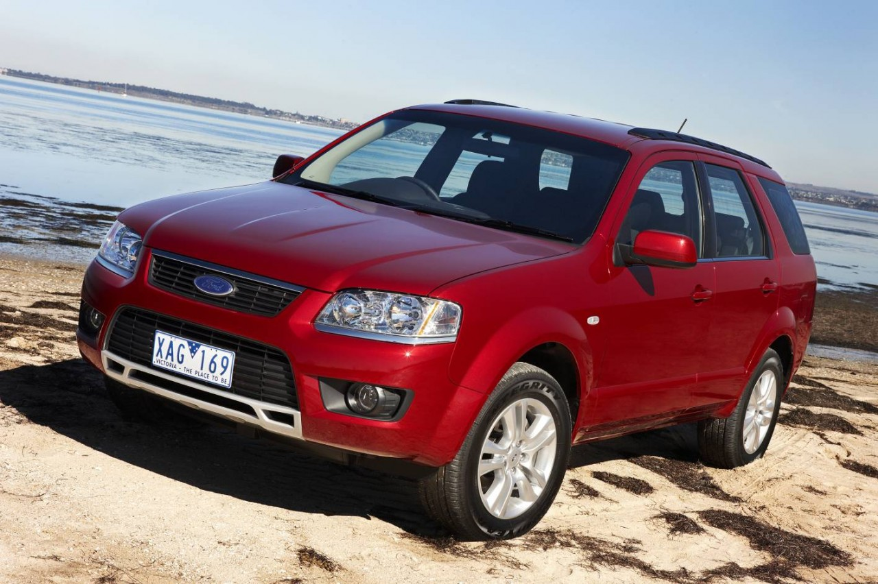new carz and bikes: 2011 Ford Territory wallpapers