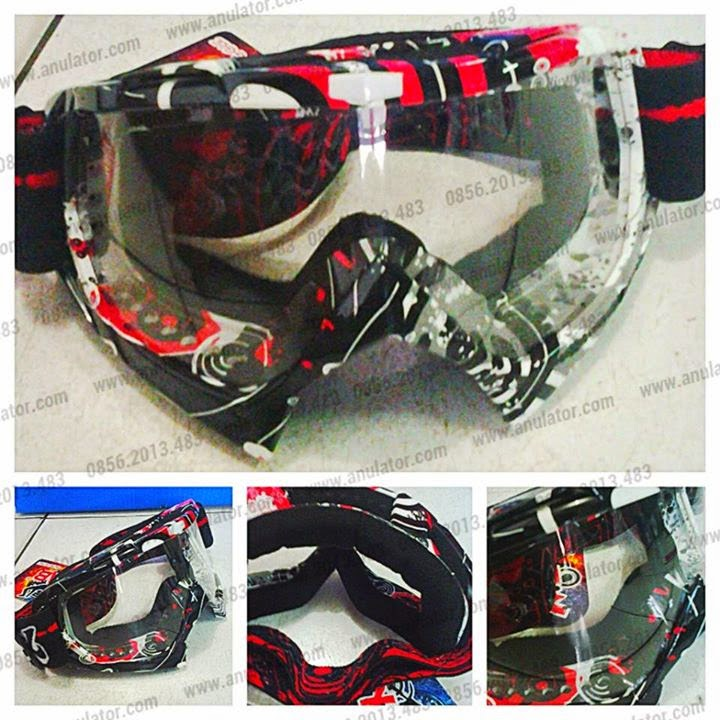 Goggle X-Lab Red BW