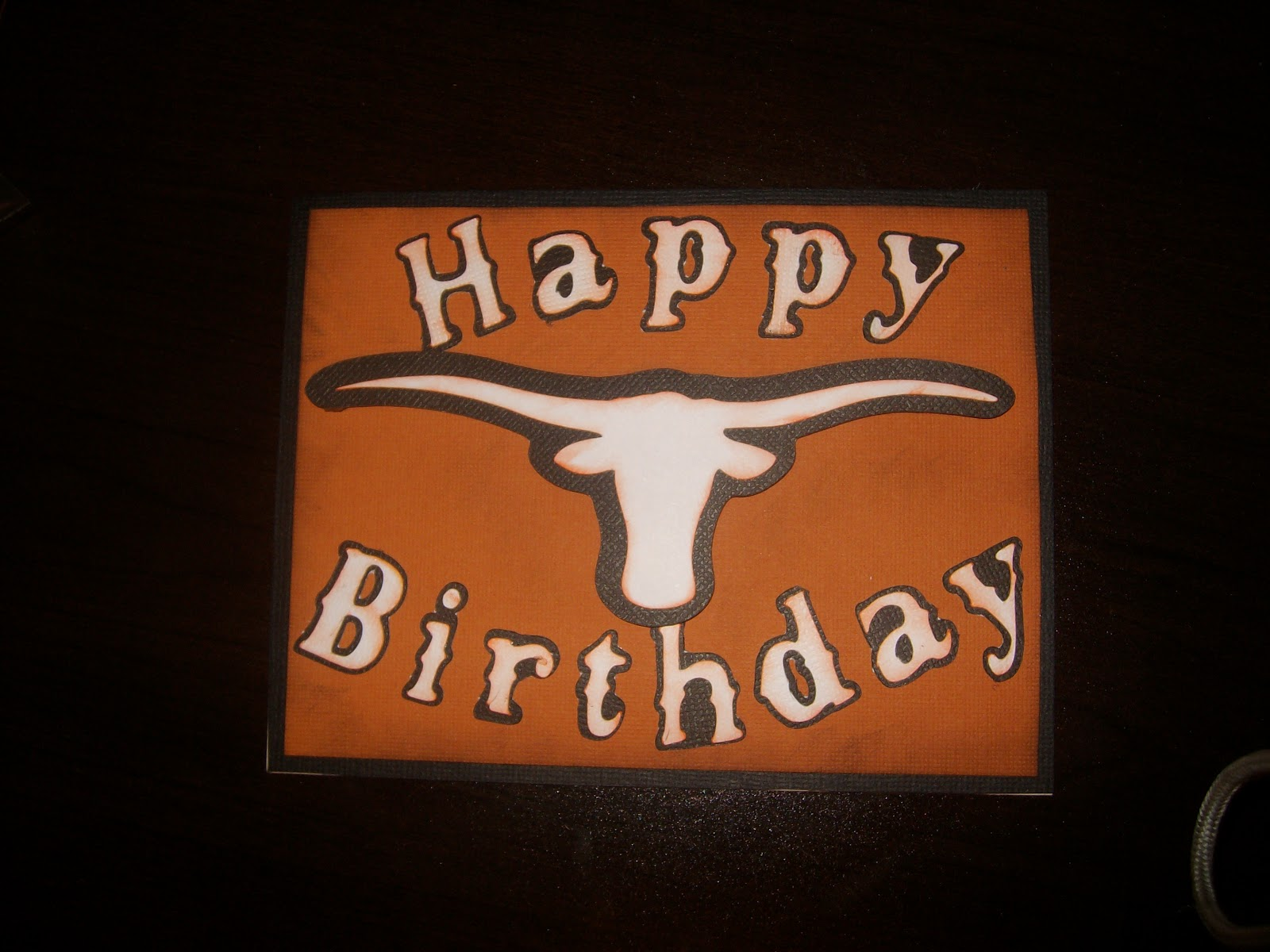 Faith by heavenly designs texas longhorn birthday card texas longhorn birthday card bookmarktalkfo Gallery