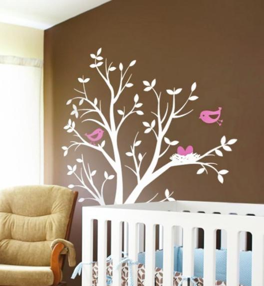Blog estilo d cor adesivar o quarto do seu pequeno sai - Stencil per camera da letto ...