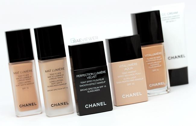 Chanel foundation wedding