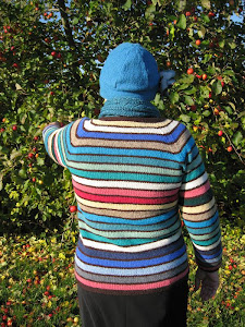 Hurtigstribet cardigan