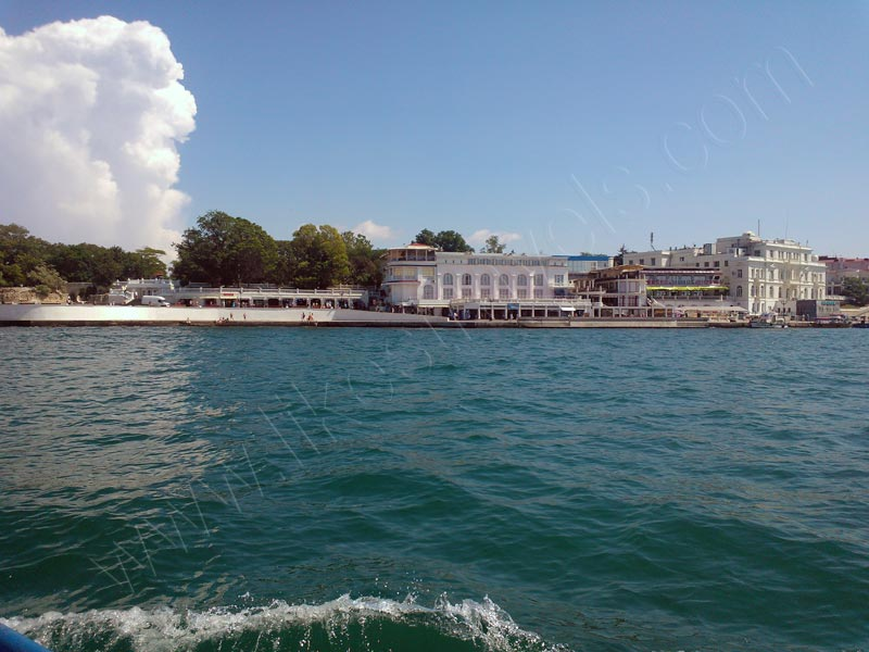 Artbuhta in Sevastopol - view from the sea