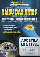 Apostila Prefeitura Embu das Artes - Professor Educação Básica.