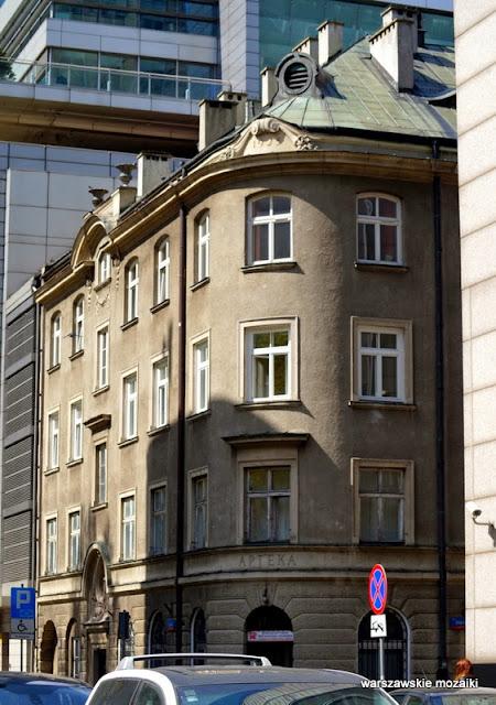 Warszawa Warsaw zabytek Śródmieście Henryk Juliusz Gay przychodnia Żydowska Szkoła Pielęgniarstwa Kasa Chorych