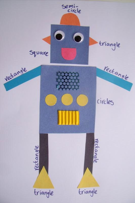 make do amp friend shape recognition robot