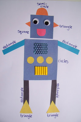 Shape Recognition Robot for Preschoolers