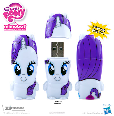 My Little Pony x Mimobot USB Flashdrives Series - Rarity