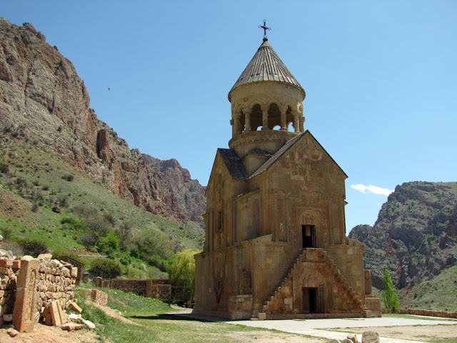 Armenia, monasterio de Noravank