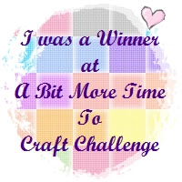 A Bit More Time To Craft Challenge #16 Winner