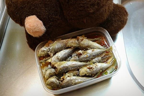 塩を入れない豆アジの南蛮漬けフレッシュトマト入りの作り方(4)
