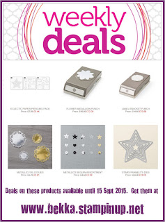 Get your weekly deals from Stampin' Up! here