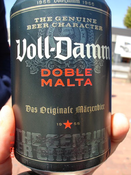 Voll-Damm - singura bere locala care mi-a placut