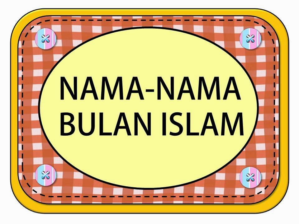 bulan muslim Assalamualaikum warahmatullah bila sebut pasal bulan di dalam kalendar, semua orang tahu menyebutnya tapi bila kita sebut pasal bulan islam, begitu sedikit yang tahu dan hafal kesemuanya.