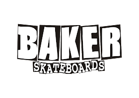 Baker Skateboards Logo Vector download free