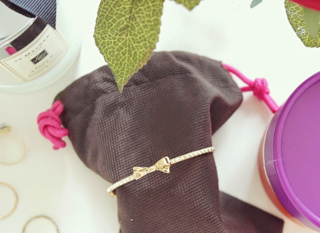 kate spade bracelet with bow