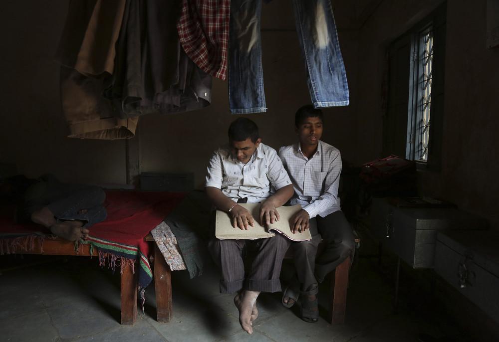 Фото повседневной жизни в Индии (27 фото)