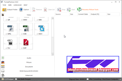 download format factory full terbaru 2016