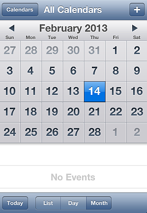 add events iphone calendar