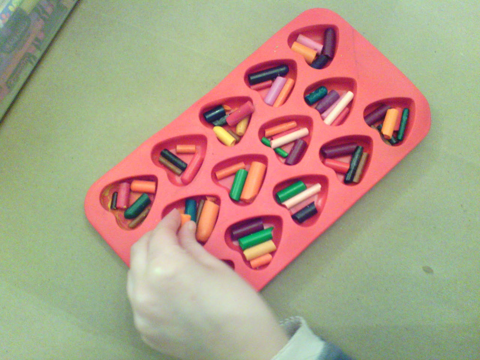 heart shaped crazy crayons