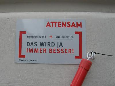 Attensam, Dachlawine, Bécs, Vienna, Wien, ötletek, ötlet