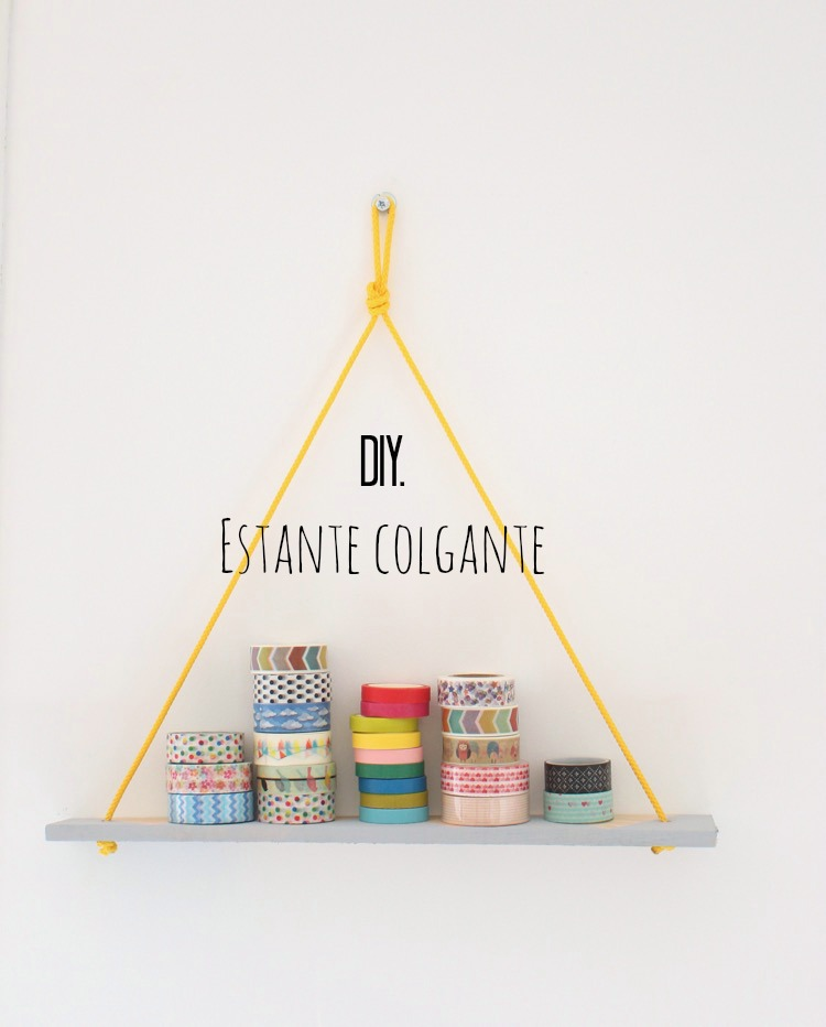 DIY: Estante colgante