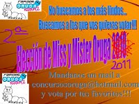 PREMIO: ELECCIÓN DE MISS Y MISTER ORUGA 2011