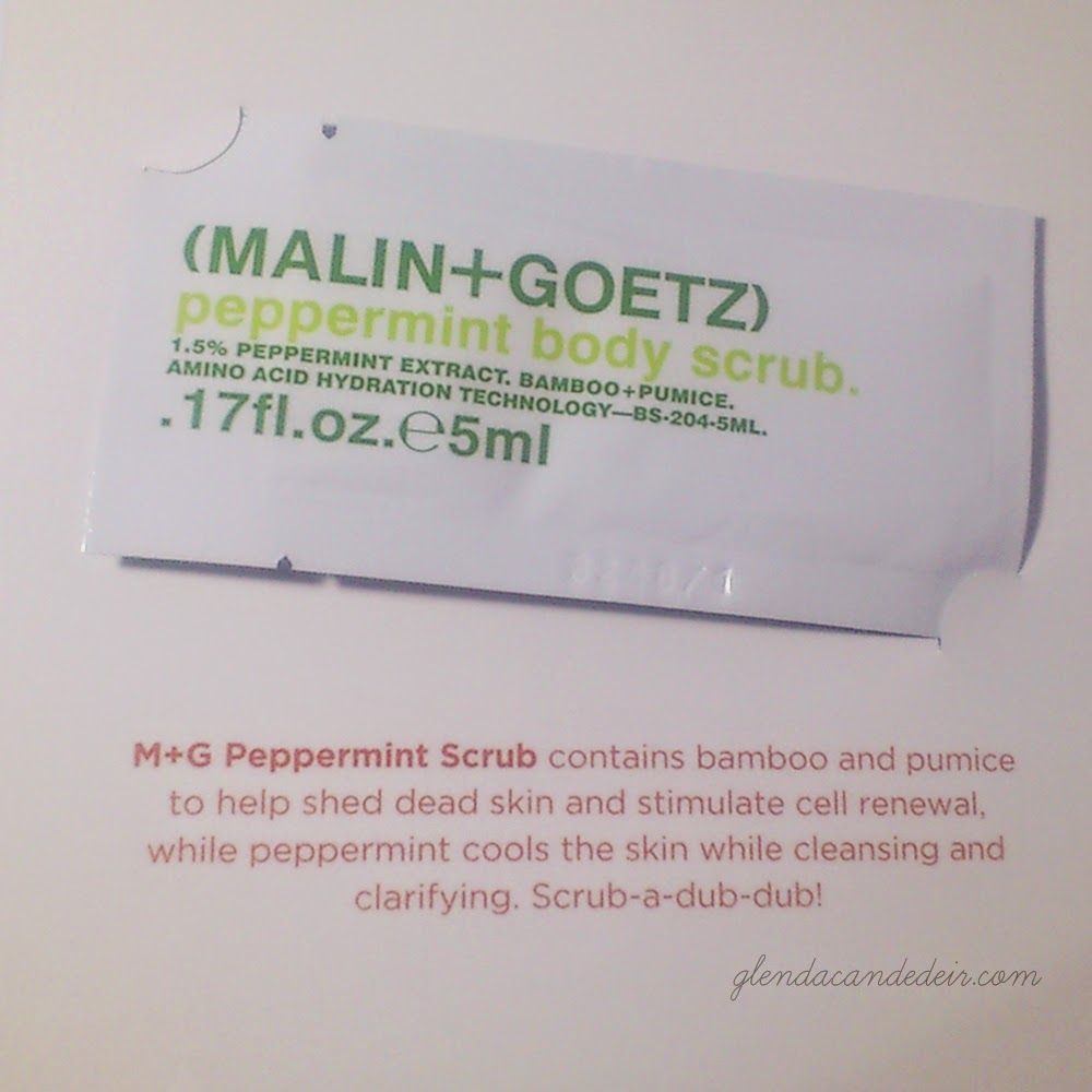 Strip RPT Kit - Malin+Goetz peppermint body scrub