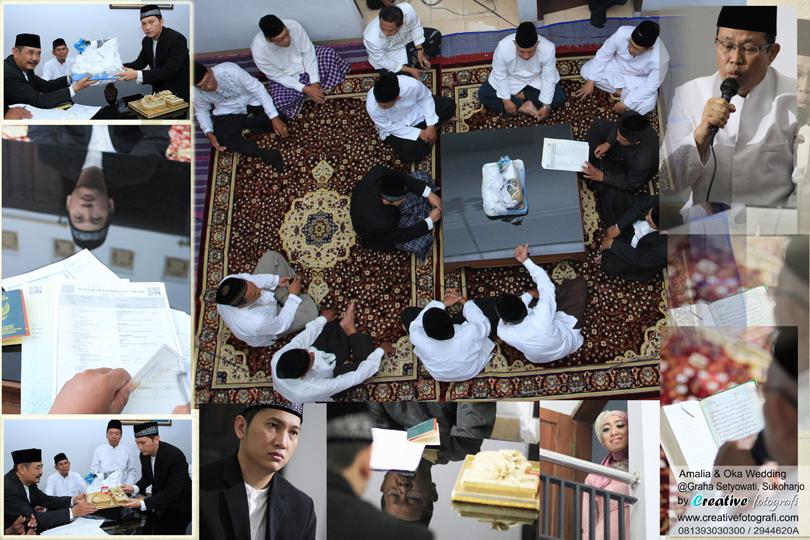 foto ijab kabul pernikahan
