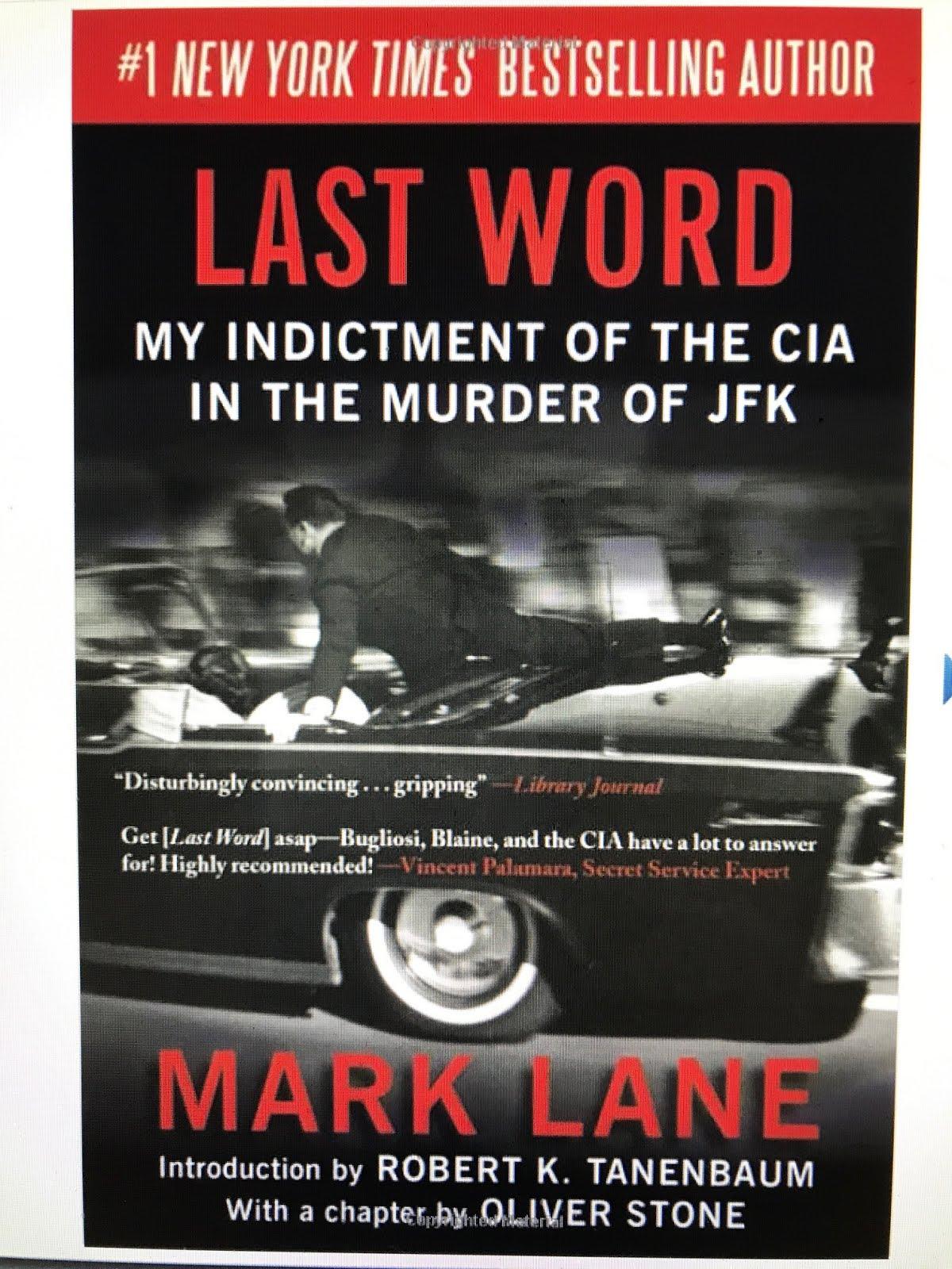 DEBUNKS BUGLIOSI, BLAINE AND THE CIA!
