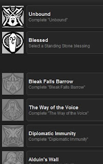 some Skyrim achievements @ Steam