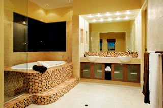 Modern Interior Design Bathroom Photo Colorful