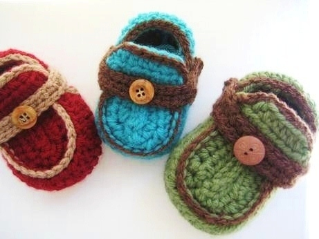 Boys Moccasins Crochet Baby Booties Pattern Pdf Pattern For Sale